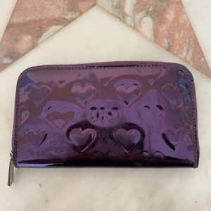 Marc by Marc Jacobs Mirror heart wallet